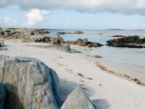 evening on the beach, Tiree