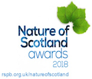 RSPB Nature of Scotland logo
